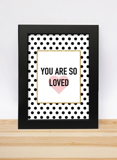 You Are So Loved 13-18cm-Decarthome